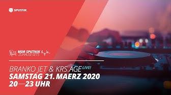 MDR SPUTNIK Zuhause-Set mit den SPUTNIK Disco-DJs Branko Jet und krs.age