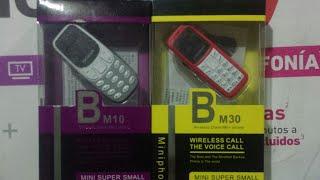 BM30 BM10 Mini celular  espía cambia la voz