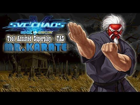 【TAS】SVC CHAOS : SNK VS CAPCOM - SERIOUS MR.KARATE