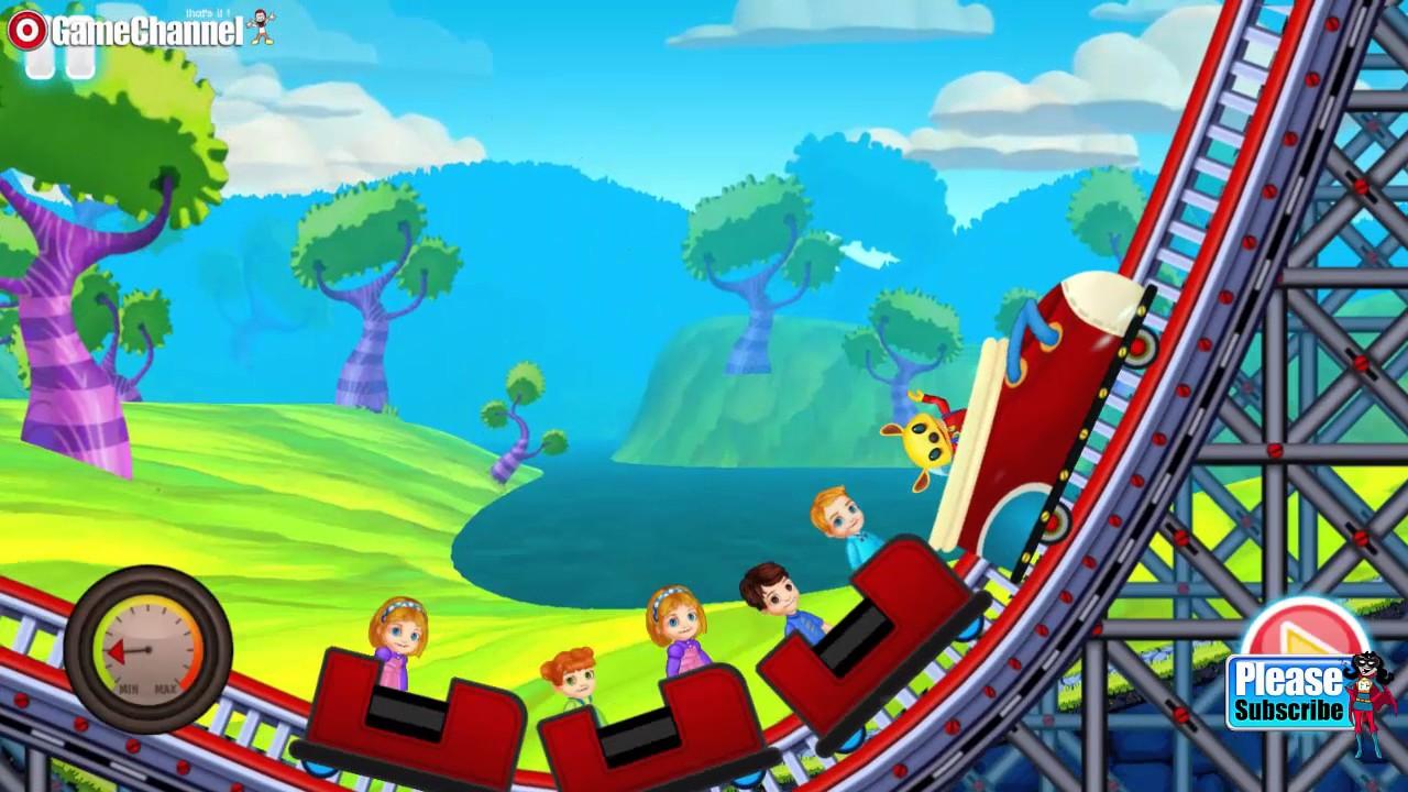 roller coaster games for kids