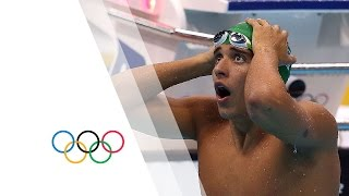 Le Clos shocks Phelps - Men's 200m Butterfly | London 2012 Olympics Games(Check out the brandnew Olympic Channel: http://go.olympic.org/watch?p=yt Full highlights from the Aquatics Centre in London as South Africa's Chad Le Clos ..., 2012-07-31T20:29:23.000Z)