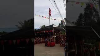 Lân Leo Cột Tre - Đoàn Lân Sư Rồng Lâm Anh 2018
