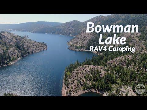 Bowman Lake RAV4 Camping Weekend
