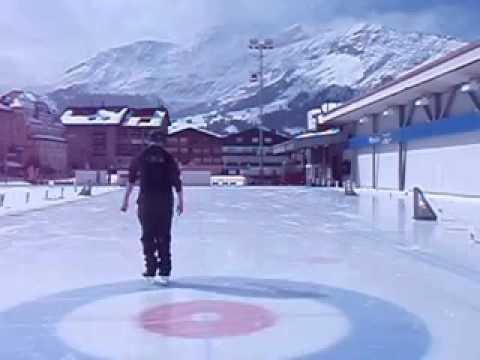 john skating Wengen