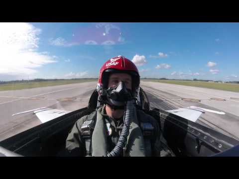 2016 Ryan Hunter Reay Fly's with US Air Force Thunderbirds