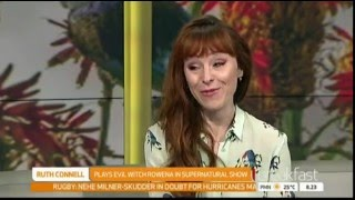 Ruth Connell (Rowena / Supernatural) Interview - Armageddon Expo 2016