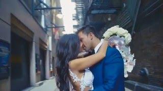 Видеотрейлер американской свадьбы