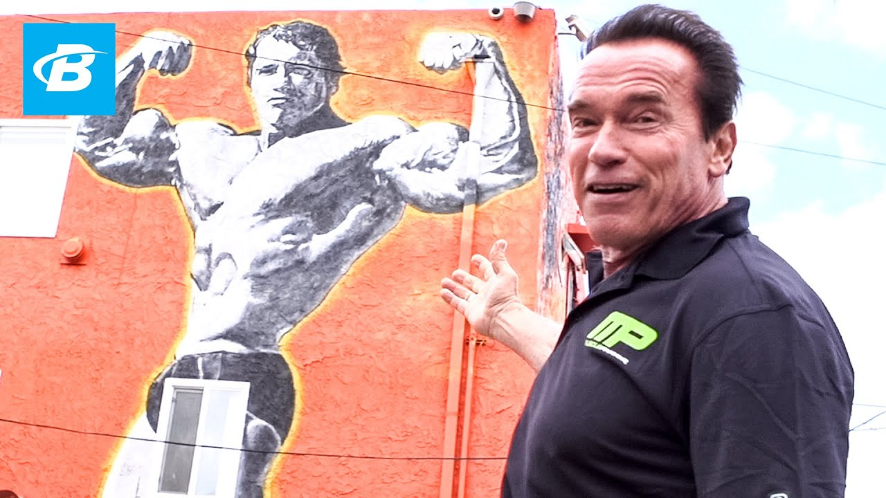 Arnold schwarzeneggers venice beach car tour arnold arnold schwarzeneggers venice beach car tour arnold schwarzeneggers blueprint training program youtube malvernweather Image collections