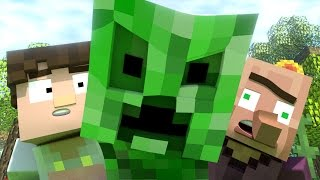 Annoying Villagers 16 - Original Minecraft Animation by MrFudgeMonkeyz