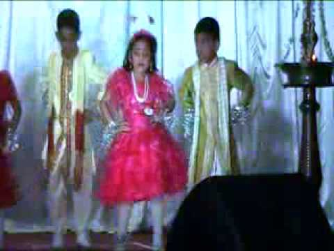 Devadoothar Padi - Dance by St. Mary's Sunday School Sharjah - KG1.mp4