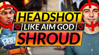 How Shroud Achieves PERFECT AIM - BEST Vandal Tips and Tricks you Need - Valorant Guide