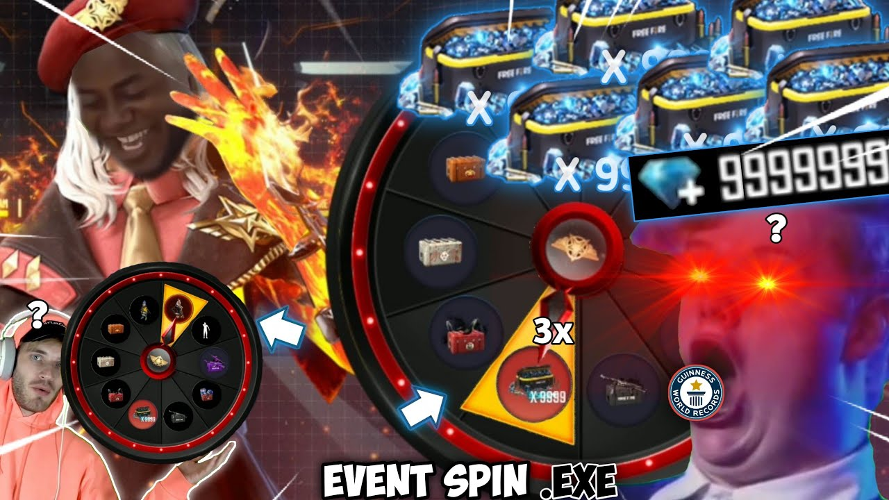 FREE FIRE.EXE | EVENT SPIN.EXE
