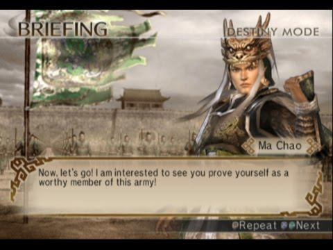 Dynasty Warriors 5 - Ma Yunlu Destiny Mode Let's Play Part 1