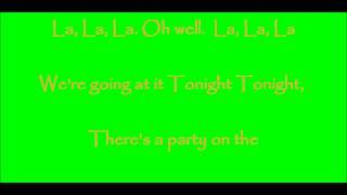 Download Tonight Tonight Lyrics MP3 song and Music Video