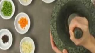 как использовать ступку и пестик