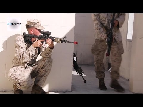 US Marine - Military Operations on Urban Terrain (MOUT) Operations