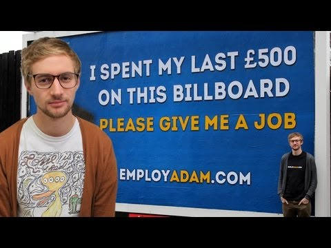 Employ Adam: Adam Pacitti's Video CV