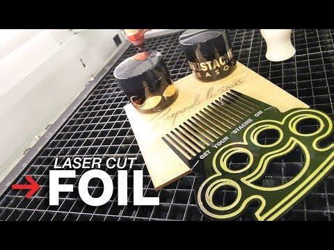 Laser Cut Foil | Laserable Foil | Trotec Foil Rolls