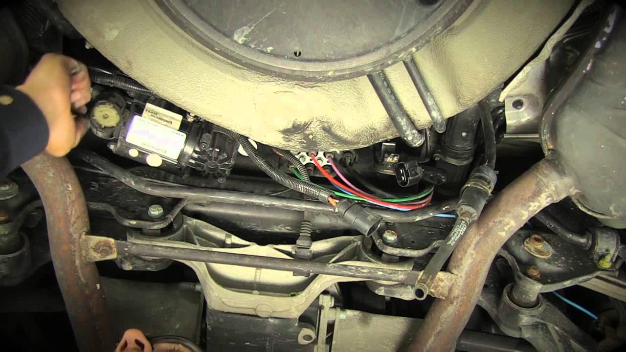 Replacing the Audi allroad quattro Air Suspension