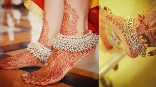 Bridal Silver Anklet Designs - New Collection  2018