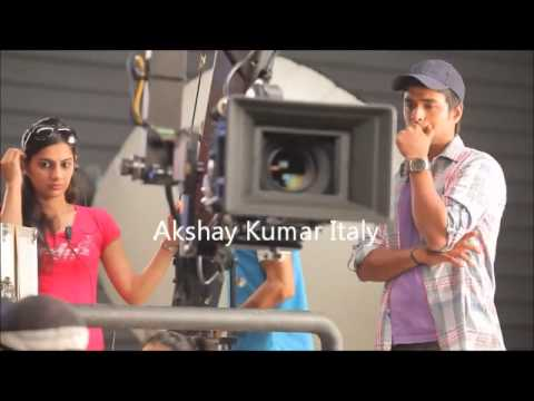 Akshay Kumar performing stunts in making of Sugar Free TVC