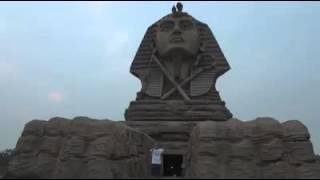 رحالة مصرى: أبو الهول الصينى لم يفكَّك والصينيون يبنون معابد جديدة تضم آثارا مصرية