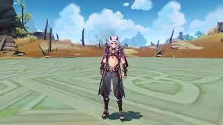 [Leaked] Arataki Itto Idles \u0026 Gameplay - Genshin Impact