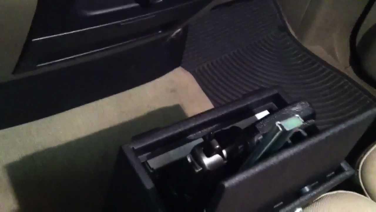 Secure car gun safe  YouTube