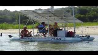 Белый кораблик(Клип об изготовлении и испытании катамарана на солнечных батареях., 2013-10-09T23:33:24.000Z)