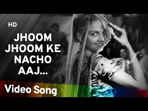 Jhoom Jhoom Ke Nacho Aaj   Andaz (1949) Song   Nargis   Dilip Kumar   Mukesh   Majrooh Sultanpuri