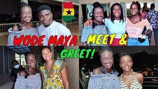WODE MAYA MEET AND GREET Meet all your favorite Ghanaian and African creators