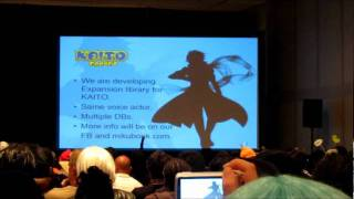Kaito Append Short Demo in NYCC 2011