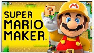 SUPER MARIO MAKER w/ Shigeru Miyamoto & Takashi Tezuka!!