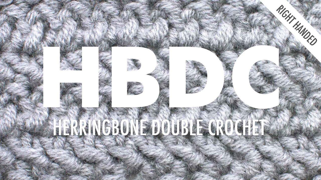 The herringbone double crochet crochet abbreviation right the herringbone double crochet crochet abbreviation right handed dt1010fo