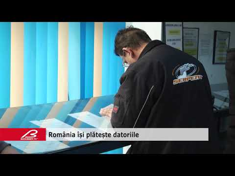 Romania isi plateste datoriile