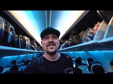 THE FANCIEST ECONOMY AIRPLANE SEAT! *Alaska Boeing Sky Interior*