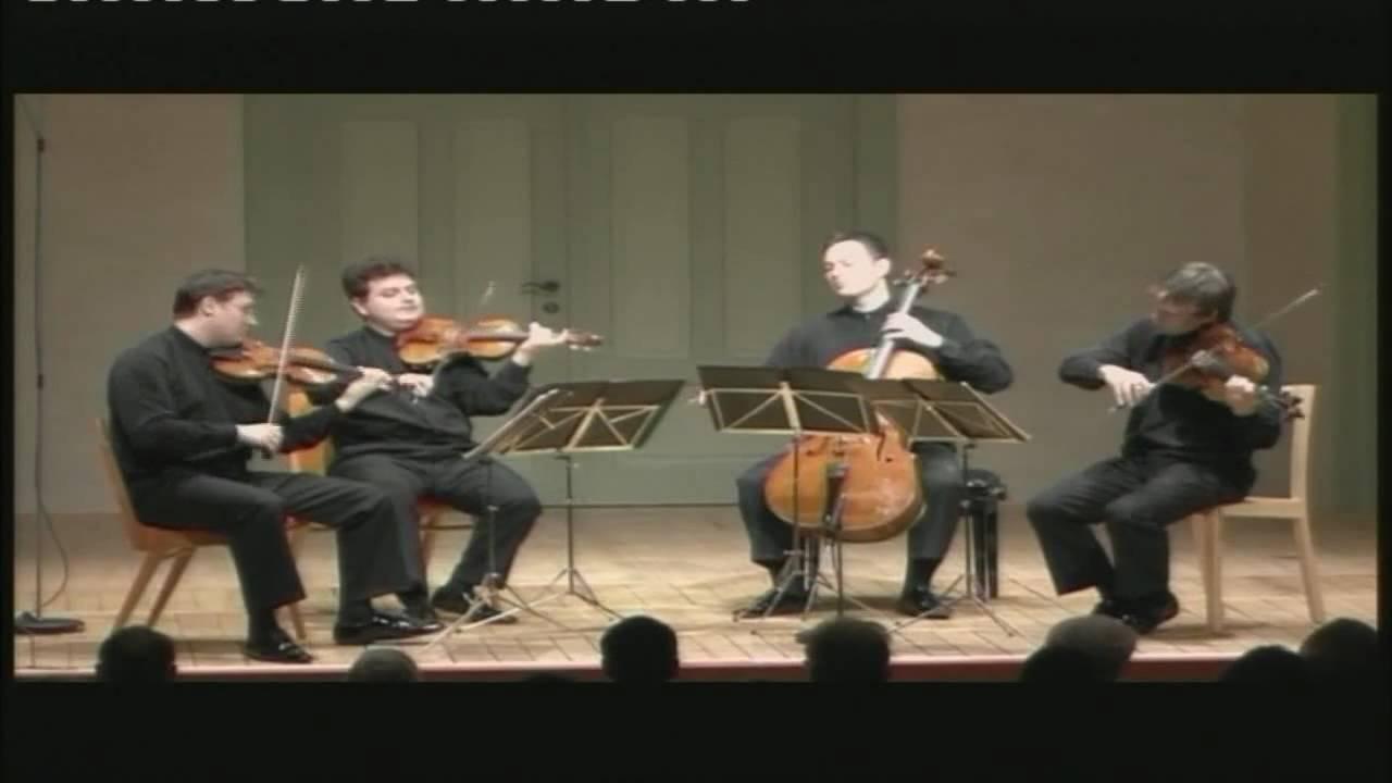 Jerusalem Quartet Joseph Haydn String Quartet Op 77 n 1 III Menuetto