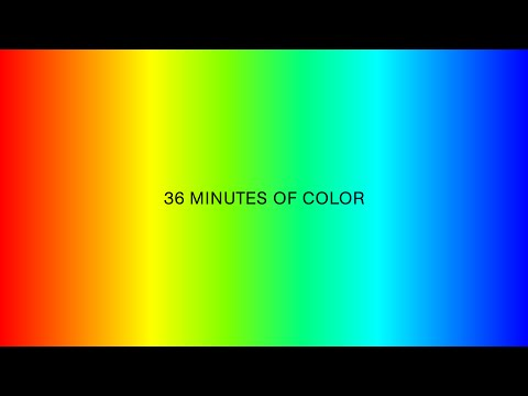 Color Therapy - 36 minutes of full spectrum color