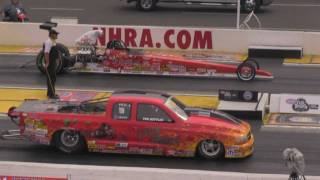 2011 NHRA AAA Auto Club Finals Comp Eliminator Qualifying