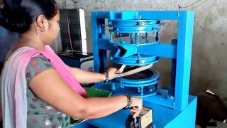 Paper Plates Making Machines Price/ Manufacturers  in Hyderabad  8688867011