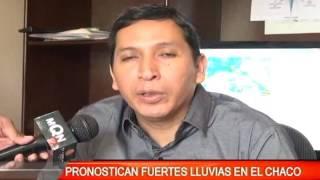 PRONOSTICAN FUERTES LLUVIAS EN EL CHACO