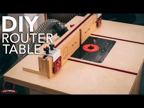 DIY Router Table Build
