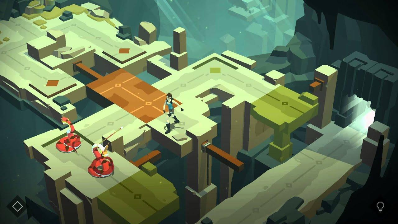 Lara Croft GO iOS award winner app app