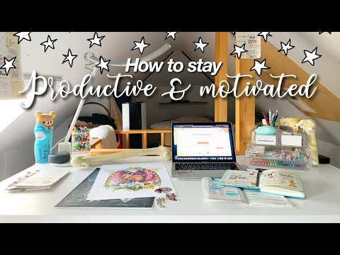 how to stay productive and motivated ☀️ summer edition | #GitMind