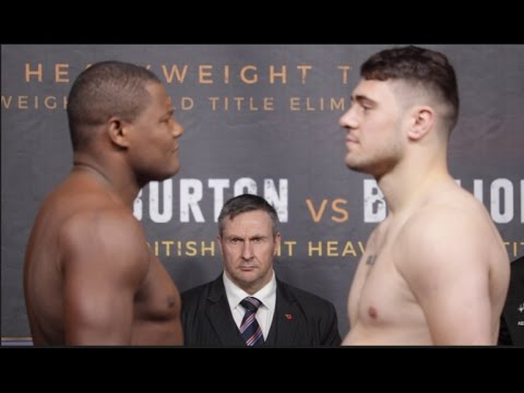 Thumbnail: HEAVYWEIGHT! LUIS ORTIZ v DAVE ALLEN - OFFICIAL WEIGH IN & HEAD TO HEAD / JOSHUA v ORTIZ
