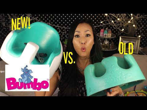 New vs. Old Bumbo Seat | Baby to Booster Seat