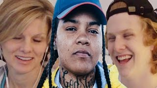 Mom reacts to Young M.A @YoungMAMusic