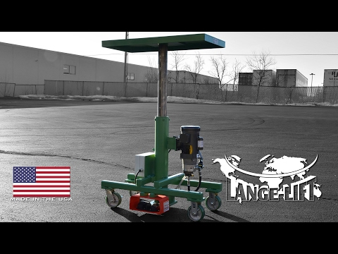 Electric Powered Lift Table | 500 Pound Capacity