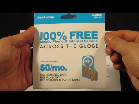 100% Free Cell Phone Service For Life Any iPhone or Android No Bills LEGIT LEGAL