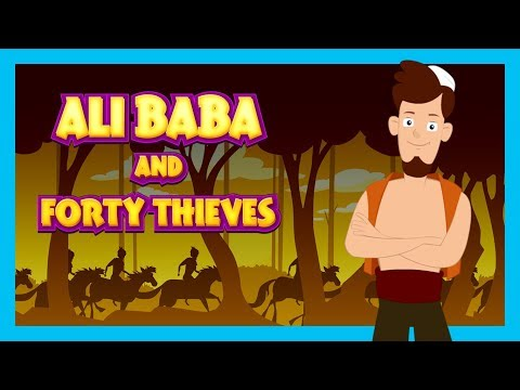 ALI BABA AND THE FORTY THIEVES FULL STORY FOR KIDS - BEDTIME KIDS HUT STORIES || TIA & TOFU STORIES
